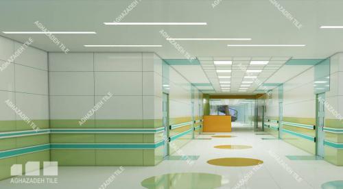 ضربه گیر بیمارستانی آنتی باکتریال و دستگیره های بیمارستانی آنتی باکتریال در انواع رنگ بندی بیمارستانی