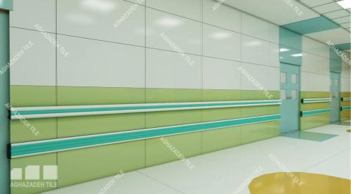 هندریل بیمارستانی آنتی باکتریال و ضربه گیر بیمارستانی در انواع رنگها