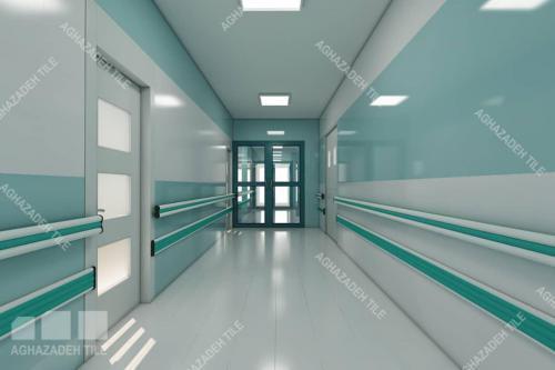 هندریل یا دستگیره های بیمارستانی آنتی باکتریال والگارد یا ضربه گیرهای بیمارستانی تطبیق با رنگ بدنه دیوار بیمارستانی و کف بیمارستانی در انواع رنگها