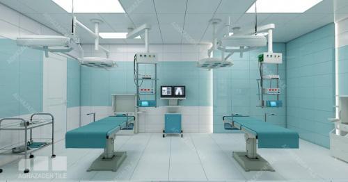 سبز بیمارستانی مات ٦٠٣٠و سفيد بیمارستانی مات ٦٠٣٠ با کف مات بیمارستانی ٦٠٦٠