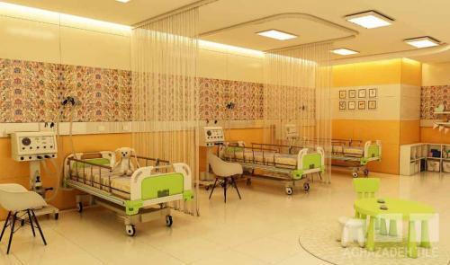 كاشي و سراميك بيمارستاني بخش كودكان ١٢٠*٦٠ پرسلان كاشي پارس