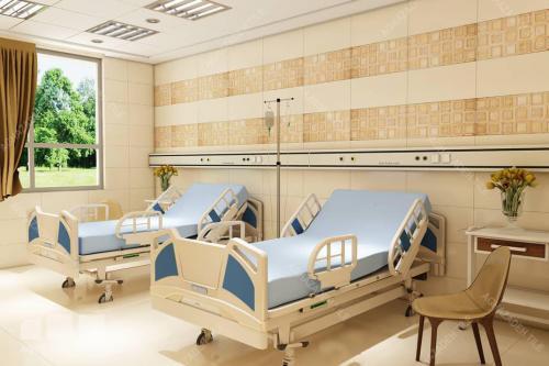کاشی اتاق بستری در رنگهای شاد کاشی بیمارستانی پرسلان