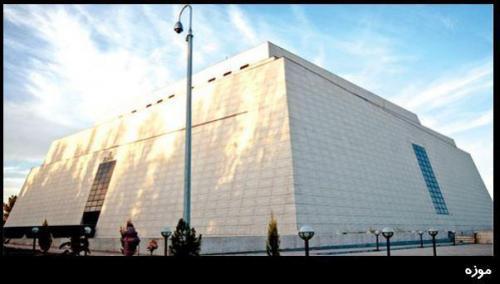 پروژه موزه ی زاهدان - کاشی پارس