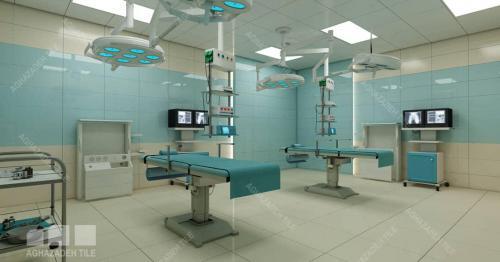 سبز بیمارستانی براق با کرم براق ٦٠٣٠ اتاق عملی