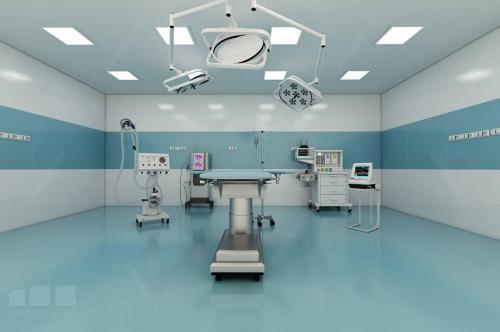 سفيد بيمارستاني با آبي بيمارستاني براق ٦٠٣٠ و كف مات