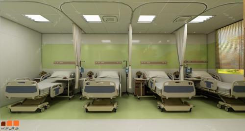 كاشي رنگي بيمارستاني