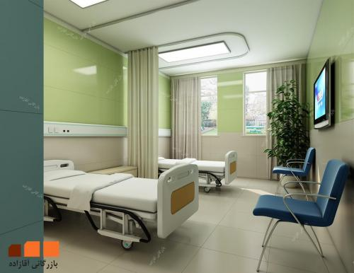 کاشی رنگی بیمارستانی